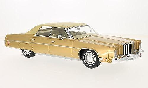 Chrysler Imperial Le Baron, Gold beige - 1975 - Ma ab  1 18 - Resine - Fertigmodell - BoS-Models
