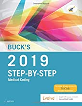 Buck's Step-By-Step Medical Coding, 2019 Edition
