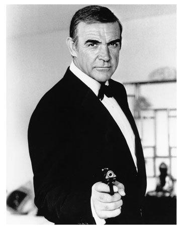 Sean Connery 10 x 8 fotos fijas de Cine Clásico