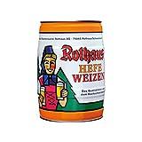 Rothaus Hefeweizen 5 L partido de la caja 5,4% en volumen