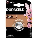 Juego de 2 pilas de botón Duracell CR2450 de litio,...
