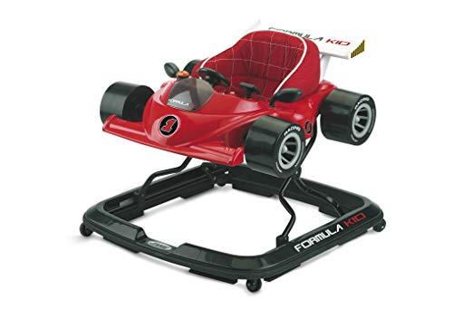 Jané Formula Kid Andador Primeros Pasos, de 6 Meses hasta 12 kg., Asiento Regulable, Bandeja Actividades, Apto Parquet, Ruedas Silenciosas