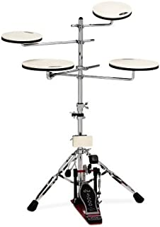 DW Drum Workshop CPPADTS5 Go Anywhere Pad Set スタンド付き (並行輸入)