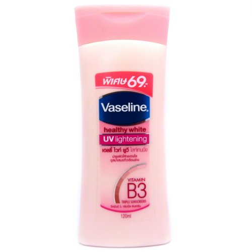 Vaseline Healthy White, Skin Lightening Lotion with Active Whitening System, Lighter Skin in 2 Weeks 100ml