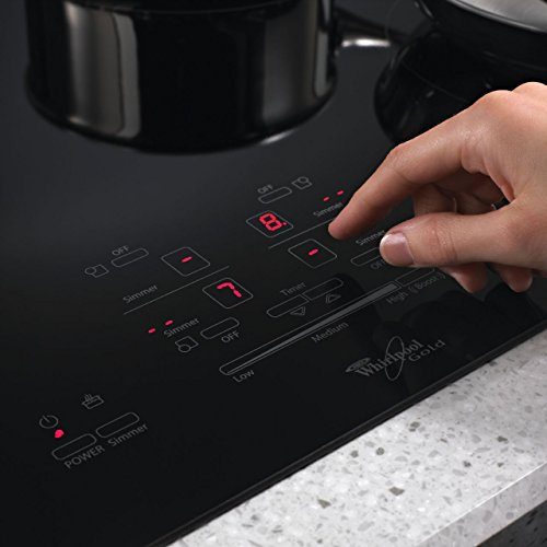 Whirlpool Gold Resource Saver GCI3061XB 30 Induction Cooktop. 4...
