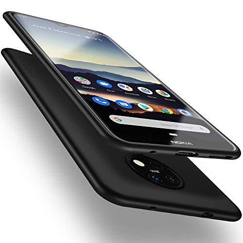 X-level Nokia 7.2 Hülle, Nokia 6.2 Hülle, [Guardian Serie] Soft Flex Silikon Premium TPU Echtes Handygefühl Handyhülle Schutzhülle für Nokia 7.2/6.2 Hülle Cover - Schwarz