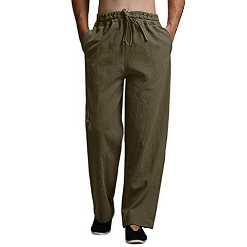 Malloom-Bekleidung elastische Arbeitshose Herren bauhose mehrfachhose Mann arbeitsgrau Weite Jogginghose Lederhose Mann ethnische Hose Mann