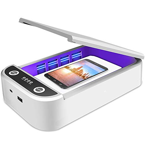 Phone Light Box-Cell Phone LED Light Box Portable Cellphone Box Smart Phone Box for iPhone Android Phones Toothbrush Jewelry Watches