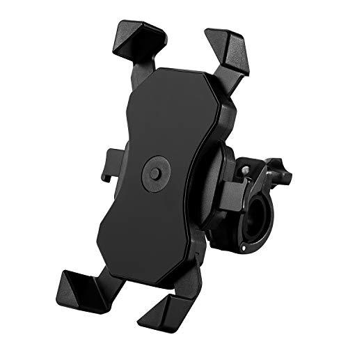 """Soporte Bicicleta, Anti Vibración Soporte Movil Bici Montaña con 360° Rotación para Moto Bici, Universal Manillar Compatible con iPhone 11 Pro Max/11 Pro/11/X/8, Samsung y 4,0""""-6,5"""" Móvil"""