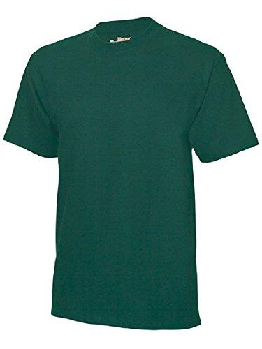 Hanes USA Beefy-t Men's Crew t-Shirt. - Green - XXXL