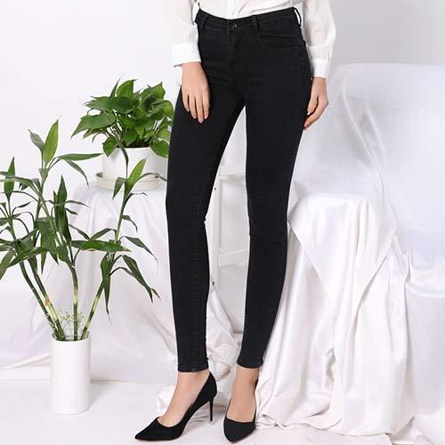 Hoge taille Zwarte Jeans Vrouwen Plus Size Skinny High Stretch vrouwen Jeans voor Vrouw Denim Potlood Broek Feminino TATARIA