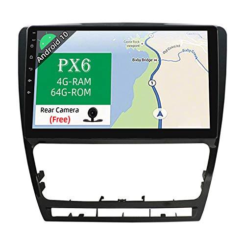 JOYX Android 10 Autoradio Compatible para Skoda Octavia(2006-2014)- [4G64G] - GPS 1...