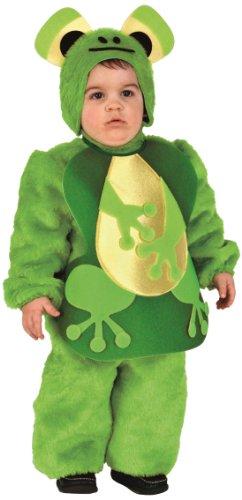 Rio - Disfraz de rana para bebé niño, talla 1-2 años (103366/TG00)
