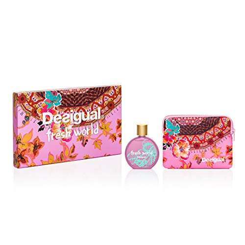 Desigual Parfum Coffret Fresh World, 100 ml, 1 Unité