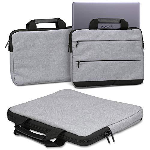Schutzhülle für Huawei MateBook 13 Laptop Tasche Sleeve Hülle Notebooktasche Hülle Tragetasche mit Handgriffen Universal, Farbe:Grau