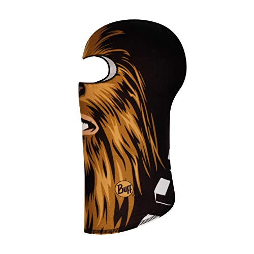 Buff Chewbacca Brown bivakmuts fleece junior unisex kinderen eenheidsmaat
