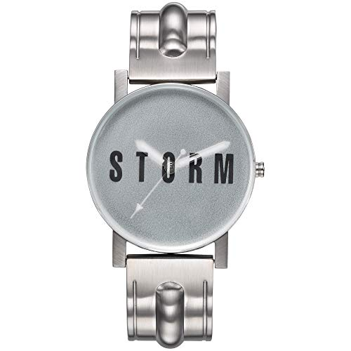 STORM London New Blast V2 Metal Green, Armbanduhr, Analoguhr, Unisex, Edelstahlgehäuse, Mineralglas, 3 bar Wasserdicht, 47455/G