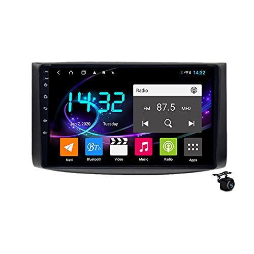 Coche estéreo Android 10.0 Radio SAT NAV para Chevrolet EPICA 2006-2012 GPS Navigation 9 '' IPS Pantalla táctil de IPS 2 DIN Multimedia Video Player FM Receptor con 4G 5G WiFi SWC Carplay,M500s