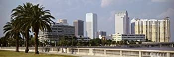Posterazzi Skyline Tampa FL USA Poster Print  18 x 6