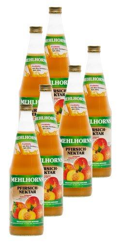 Mehlhorns Pfirsich- Nektar (6 x 0,7 l)