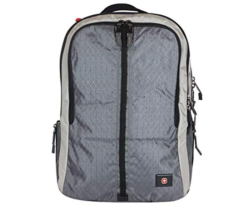 SwissGear Edge Backpack with Laptop Compartment (Grey)