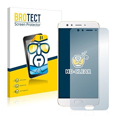 BROTECT Schutzfolie kompatibel mit Oppo F3 Plus (2 Stück) klare Bildschirmschutz-Folie