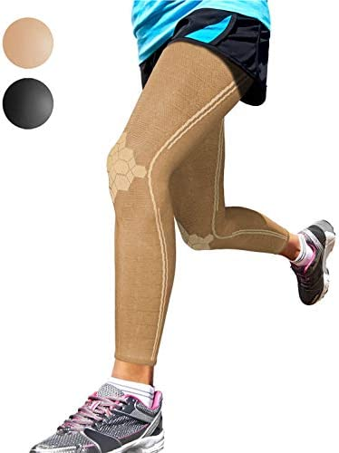 Sparthos Full Leg Compression Sleeves Brace for Calf Knee and Thigh Recovery Support Pain Relief product image