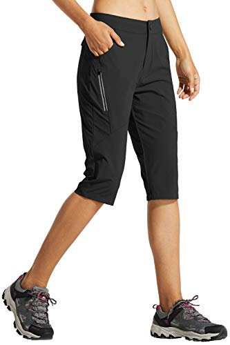 Willit Womens Hiking Cargo Shorts Stretch Active Shorts Summer Shorts Water Resistant Pockets 5 inches