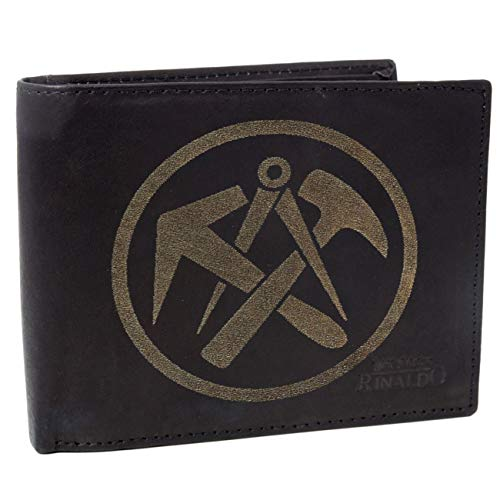 Brieftasche DACHDECKER aus Rinds Leder mit Gravur
