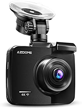Azdome Ultra HD 4K Dash Cam with WiFi GPS