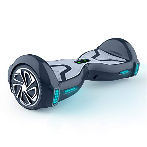 TOMOLOO Hoverboard with Bluetooth Speaker, 6.5' Off-Road All Terrain Self Balancing Hover Boards for Kids and Adults, UL2272 Certified …