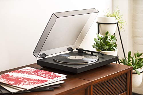 Sony PS-LX310BT Belt Drive Turntable: Fully Automatic Wireless Vinyl Record Player with Bluetooth and USB Output Black