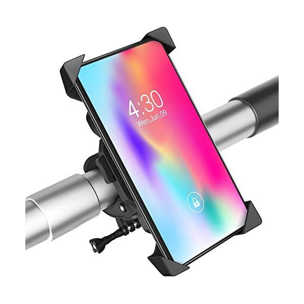 Bike Phone Mount, Anti-Shake Bicycle Cell Phone Holder, Adjustable Phone Mount Holder...