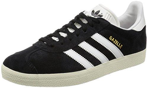 Adidas Gazelle, core black/vintage white/gold metallic, 10