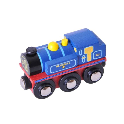 Bigjigs Rail Collection Patrimoine Locomotive Bluebell