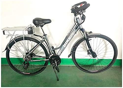 CASTOR Bicicleta electrica Bicicletas, Montaña Viajes Bicicleta eléctrica, 24 Velocidad 350W Motor 26 Pulgadas Adultos Adultos Longdistancia Montar Ebike Dual Disc Frenos