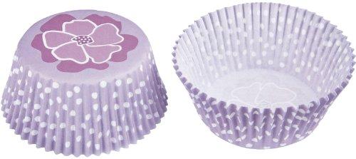 Staedter Maxi Blossom Papier Plaque de Cuisson, Violet, Lot de 50