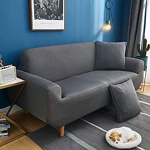 DBXFHGJR Fodere Copridivani Universale, Copridivano Elasticizzato, Sofa Mobili Protettore Copertura Divano Antiscivolo, Ideale per poltrone, divani a 2/3/4 posti (Color : P, Size : Pillowcase*1)
