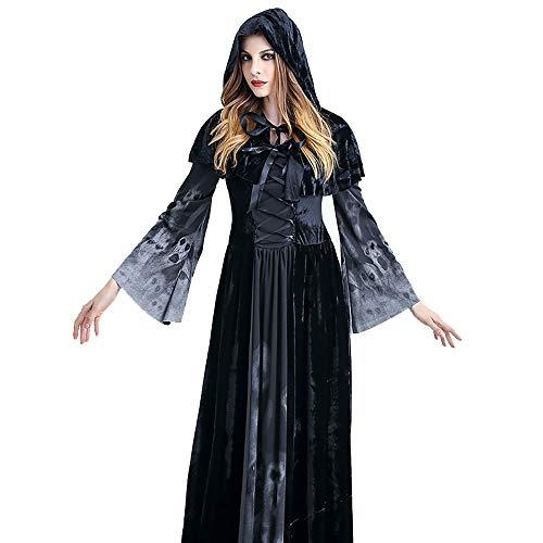 Cosplay langer Rock Weibliche Halloween Performance-Prom Kostüm Film-Kostüm (Size : XL)