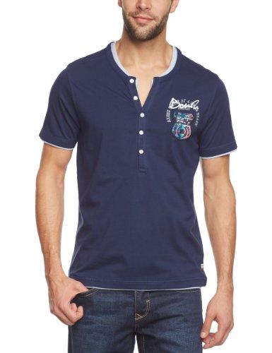 LERROS Herren T-Shirt 2353982, Gr. 48 (S), Blau (BLAU 493)