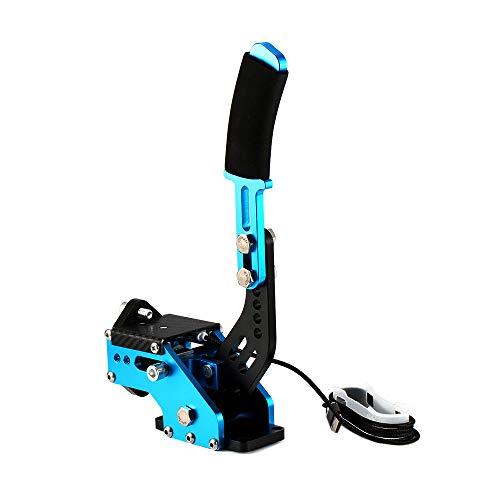 WOVELOT Nouveau Système de Freinage Capteur Hall 14 Bits USB Frein à Main Sim pour Les Jeux de Course G25 / 27/29 T300 T500 Fanatec Osw Saleté Rallier Bleu