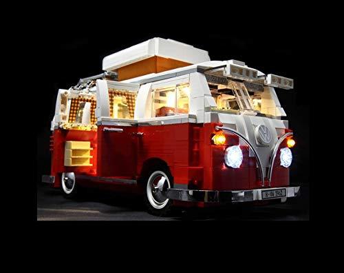Daniko LED Beleuchtungsset für Lego VW Bus T1 Akku-Box 10220 Campingbus
