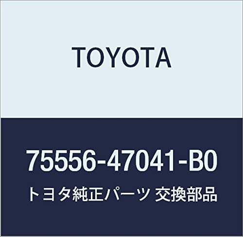 Seasonal Wrap Introduction TOYOTA Genuine 75556-47041-B0 Roof Molding Year-end annual account