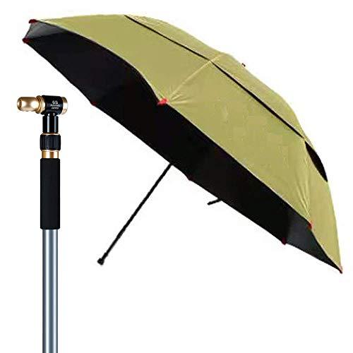 NMDD Garden Outdoor Fishing Adjustable/UV Protection Folding Beach/Patio/Grass Umbrella With Aluminium Pole