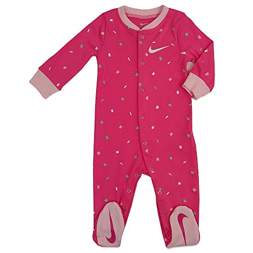 NIKE Babytooth Toss Footed Coverall Mono, Infantil, Laser Fuschia, 74