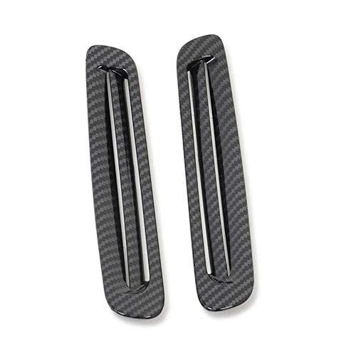 Oeiefe Car Front Window Air Conditioner Vent Outlet Trim Cover Interior Accessories, For Mazda 3 M3 Axela 2019 2020
