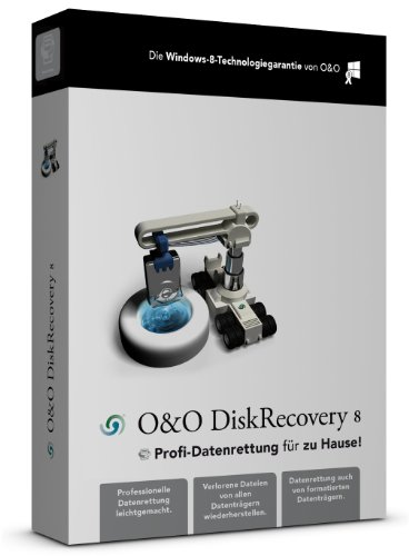 O&O DiskRecovery 8 Professional [import allemand]