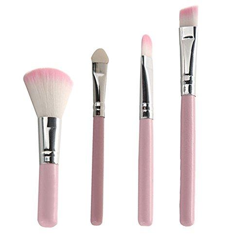 Sanwood Lot de 7 Lot de brosse de maquillage cosmétique outils Pinceaux