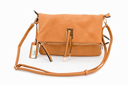 Aya Concealed Carry Purse: Honey, Small
