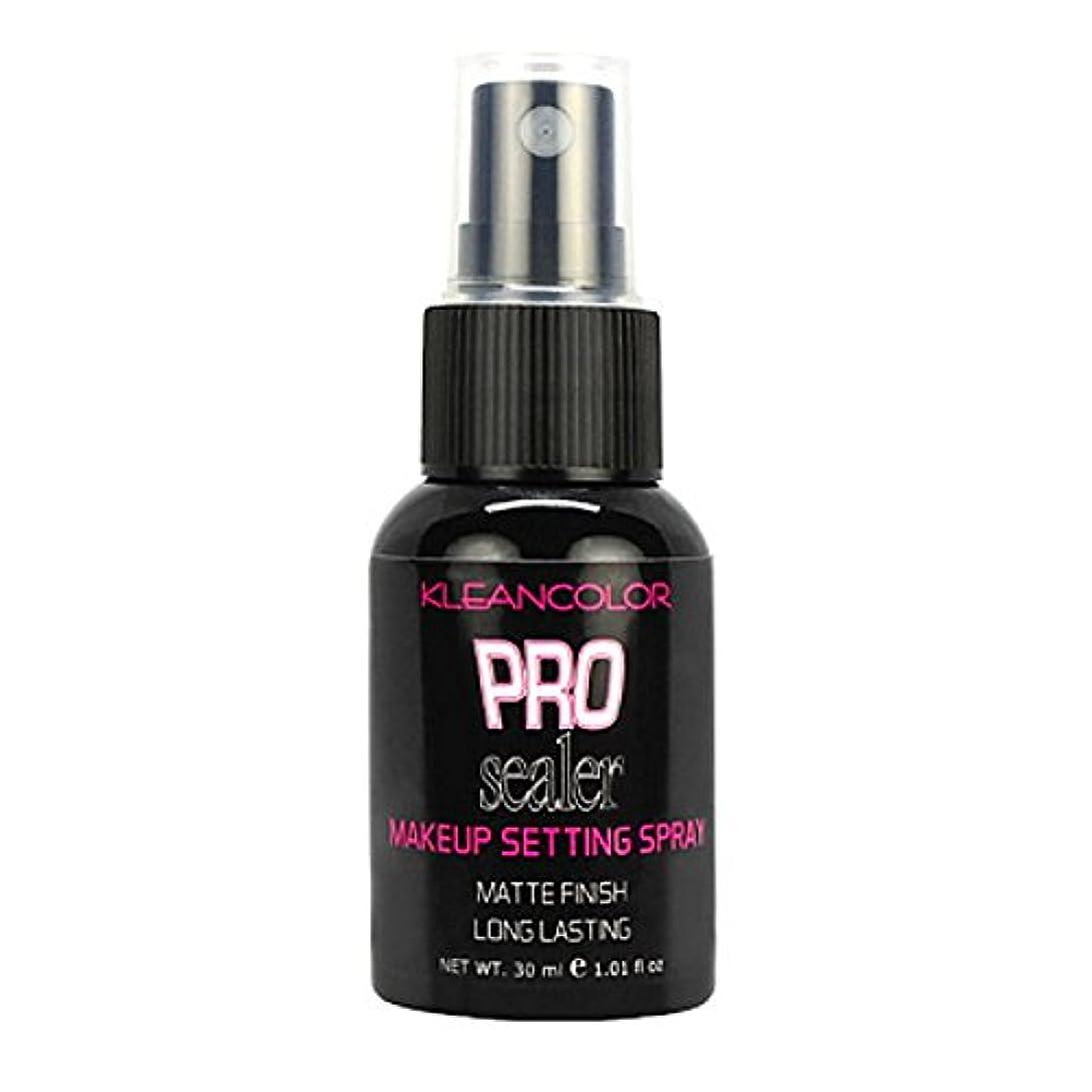 記事燃やすそうKLEANCOLOR Pro Sealer Makeup Setting Spray - Matte Finish (並行輸入品)